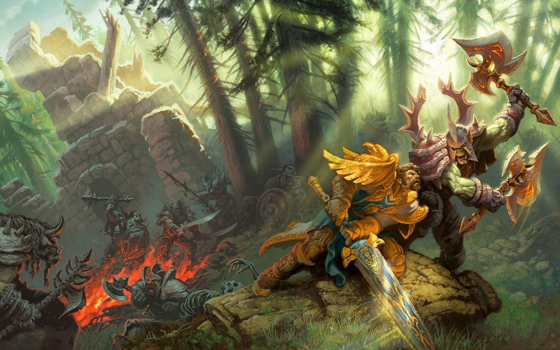 World of Warcraft Arts by Flickr user foeck
