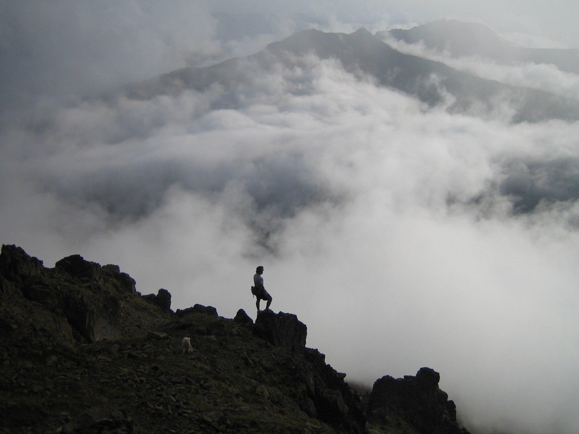 Climbing Ptarmigan Peak by Paxson Woelber