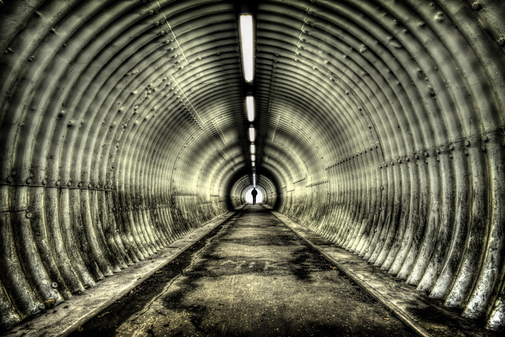 The Light at the End of the Tunnel by Steve Spiers Photography