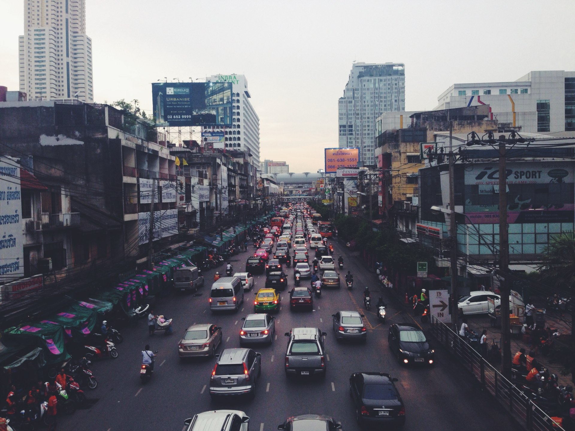 Bangkok Market by RayBay