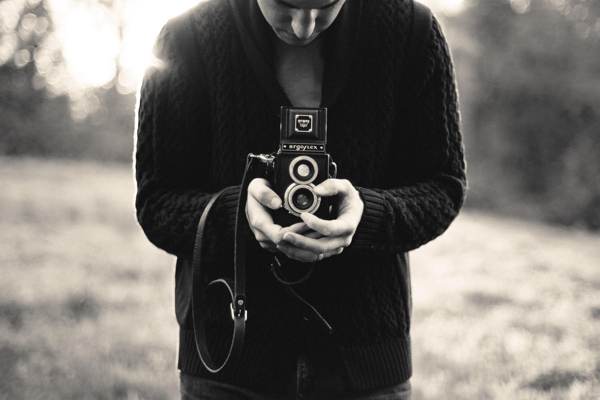 Camera Man by Jennifer Trovato